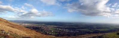 Another Panoramic view from Worcestershire Beacon