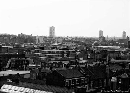 Digbeth rooftops