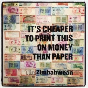 5 Billion Zimbabwean Dollar Note