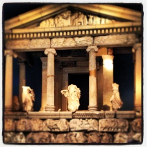 The Parthenon exhibit