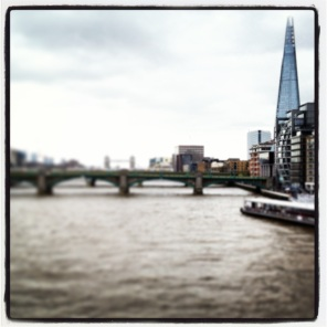 The Thames and the Shard