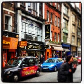Denmark Street = Music
